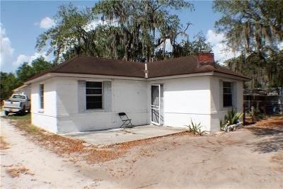 Lake Alfred Single Family Home For Sale: 420, 510 & 560 Mosley Road