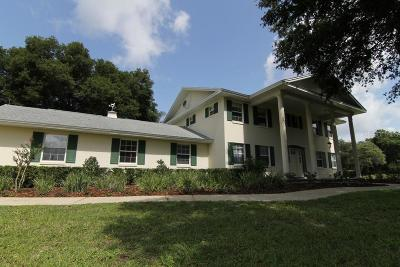 Apopka Single Family Home For Sale: 5556 S Round Lake Road