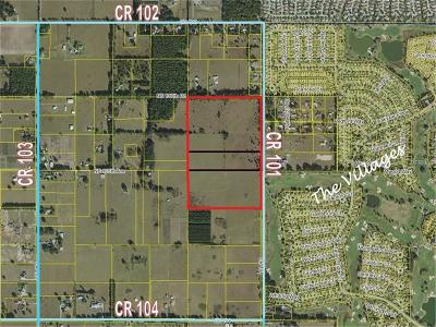 Sumter County Residential Lots & Land For Sale: Tbd Cr 101
