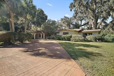 The Villages Single Family Home For Sale: 1 Hickory Head Hammock