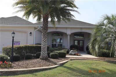 The Villages Single Family Home For Sale: 2110 Horizon Run