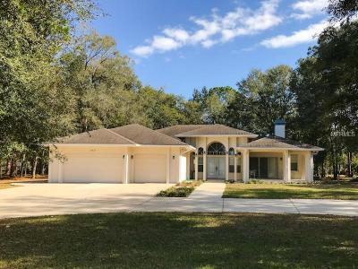 Ocala Single Family Home For Sale: 10431 SW 67th Court