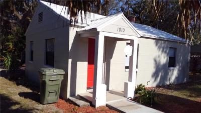 Leesburg Single Family Home For Sale: 1810 Hammock Street