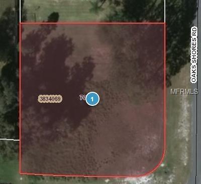 Leesburg Residential Lots & Land For Sale: 0 Oak Shores Road