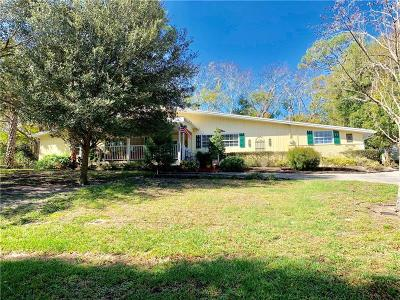 Mount Dora Single Family Home For Sale: 1515 Hilltop Drive