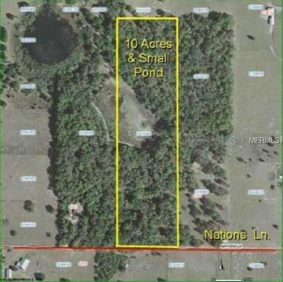 Lady Lake Residential Lots & Land For Sale: 00 Nations Lane
