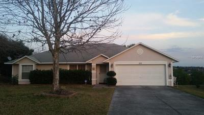 Minneola Single Family Home For Sale: 956 Forest Hill Drive