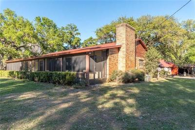 Groveland Single Family Home For Sale: 2101 Shady Lane