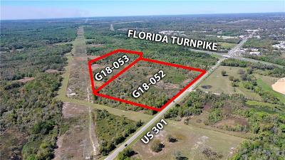 Wildwood Residential Lots & Land For Sale: 5500 N Us Hwy 301