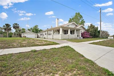 Eustis Single Family Home For Sale: 2402 E Orange Avenue