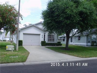 Lakeland Single Family Home For Sale: 619 Cockatoo Loop