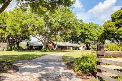 Longboat Key, Auburndale, Lakeland, Winter Haven Single Family Home For Sale: 13460 Moore Road
