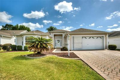 The Villages Single Family Home For Sale: 17929 SE 85th Causton Court