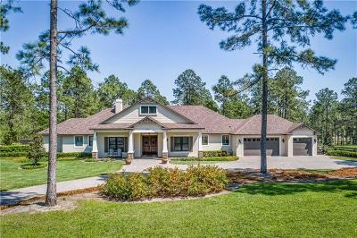 Eustis Single Family Home For Sale: 35510 Panther Ridge Road