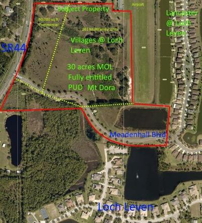Mount Dora Residential Lots & Land For Sale: State Road 44