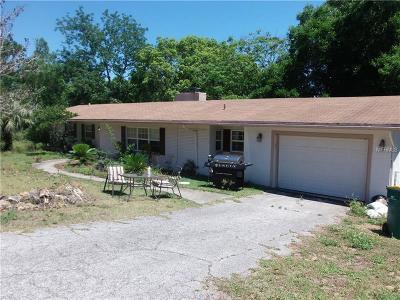 Eustis Single Family Home For Sale: 1608 Orange Drive