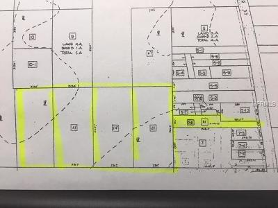 Clermont FL Residential Lots & Land For Sale: $70,000