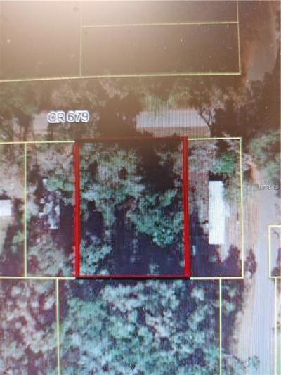 Webster Residential Lots & Land For Sale: Cr 679