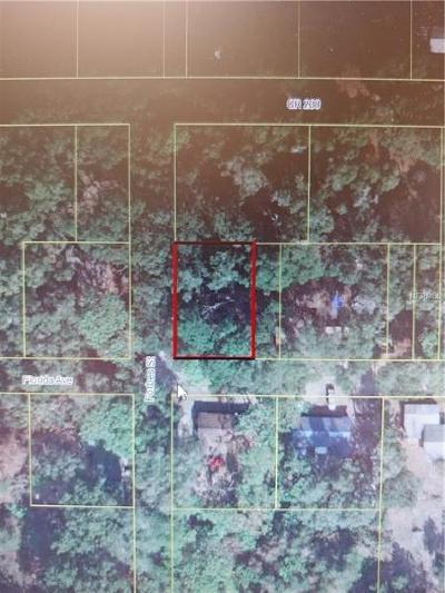 Wildwood Residential Lots & Land For Sale: NE 69th Rd
