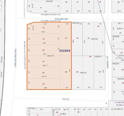 Winter Haven Residential Lots & Land For Sale: 0 Lake Alfred Road