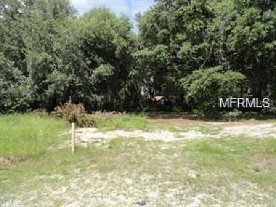 Tavares Residential Lots & Land For Sale: Lion Lane