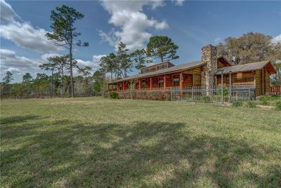 Eustis Single Family Home For Sale: 26225 Pitts Road