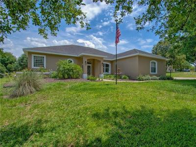 Lady Lake Single Family Home For Sale: 5515 Citation Court