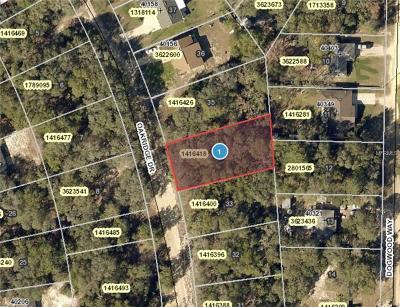 Lady Lake Residential Lots & Land For Sale: Oakridge Drive