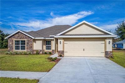Lake County, Sumter County Single Family Home For Sale: Lot 4 Aspen Street