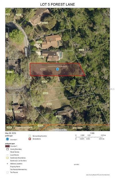 Eustis Residential Lots & Land For Sale: 33 Forest Lane