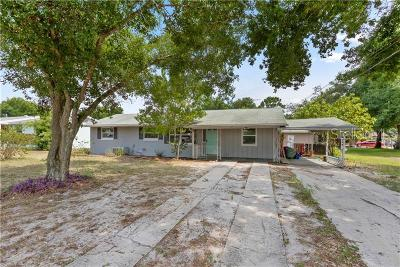 Gotha Single Family Home For Sale: 3558 Crystal Street