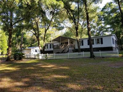 Pinellas County, Pasco County, Hernando County, Hillsborough County, Marion County Mobile/Manufactured For Sale: 29765 SE 152nd Place