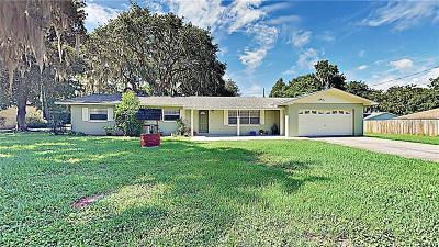 Fruitland Park Single Family Home For Sale: 5534 Twin Palms Road