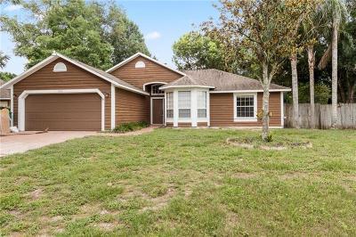 Eustis Single Family Home For Sale: 3010 Clamont Lane