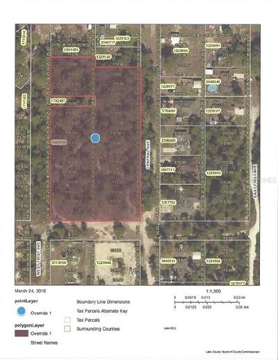 Umatilla Residential Lots & Land For Sale: Central Avenue