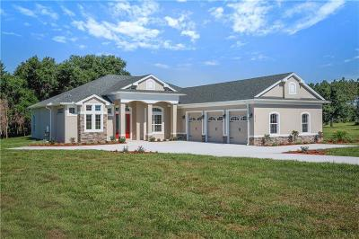 Umatilla Single Family Home For Sale: Lot 21 Gregory Drive