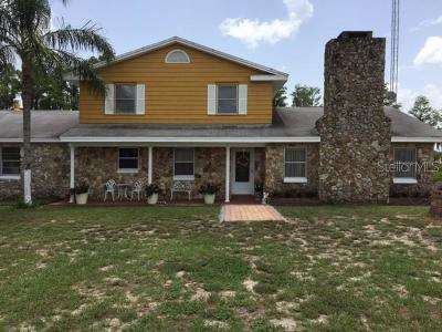 Groveland Single Family Home For Sale: 13501 Rester Road