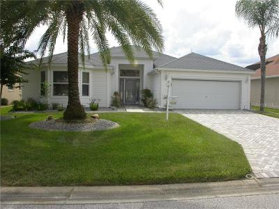 The Villages Single Family Home For Sale: 2884 Manor Downs