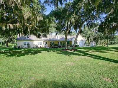 Umatilla Single Family Home For Sale: 14432 Lake Yale Road