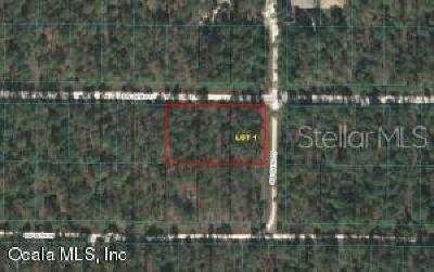 Residential Lots & Land For Sale: 0 SW 30th Street #Lot 1