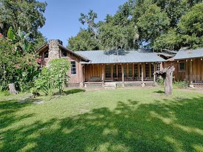Groveland Single Family Home For Sale: 4454 Simon Brown Road