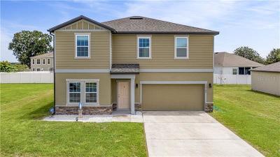 Mascotte Single Family Home For Sale: 15143 Sora Street