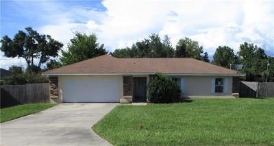 Marion County Single Family Home For Sale: 1341 NW 67th Place
