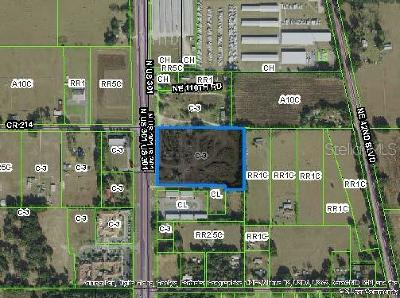 Residential Lots & Land For Sale: 10973 N Us Highway 301