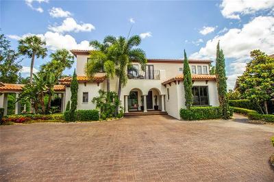 Tampa Single Family Home For Sale: 1801 BELLA LAGO LANE