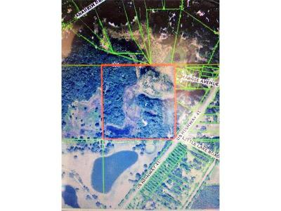 Pasco County Residential Lots & Land For Sale: 14735 Us Highway 41