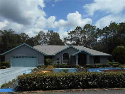 Brooksville Single Family Home For Sale: 9460 Weeks Drive