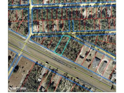 Levy County Residential Lots & Land For Sale: 0 NE 66th Place