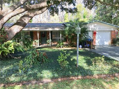 Lutz Single Family Home For Sale: 908 Hillside Drive