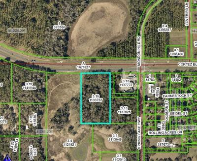 Hernando County Commercial For Sale: 26278 Cortez Boulevard